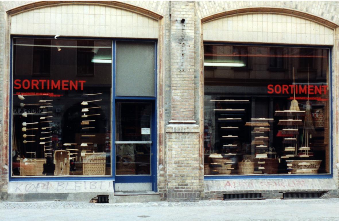 Schaufenster # 05 SORTIMENT
