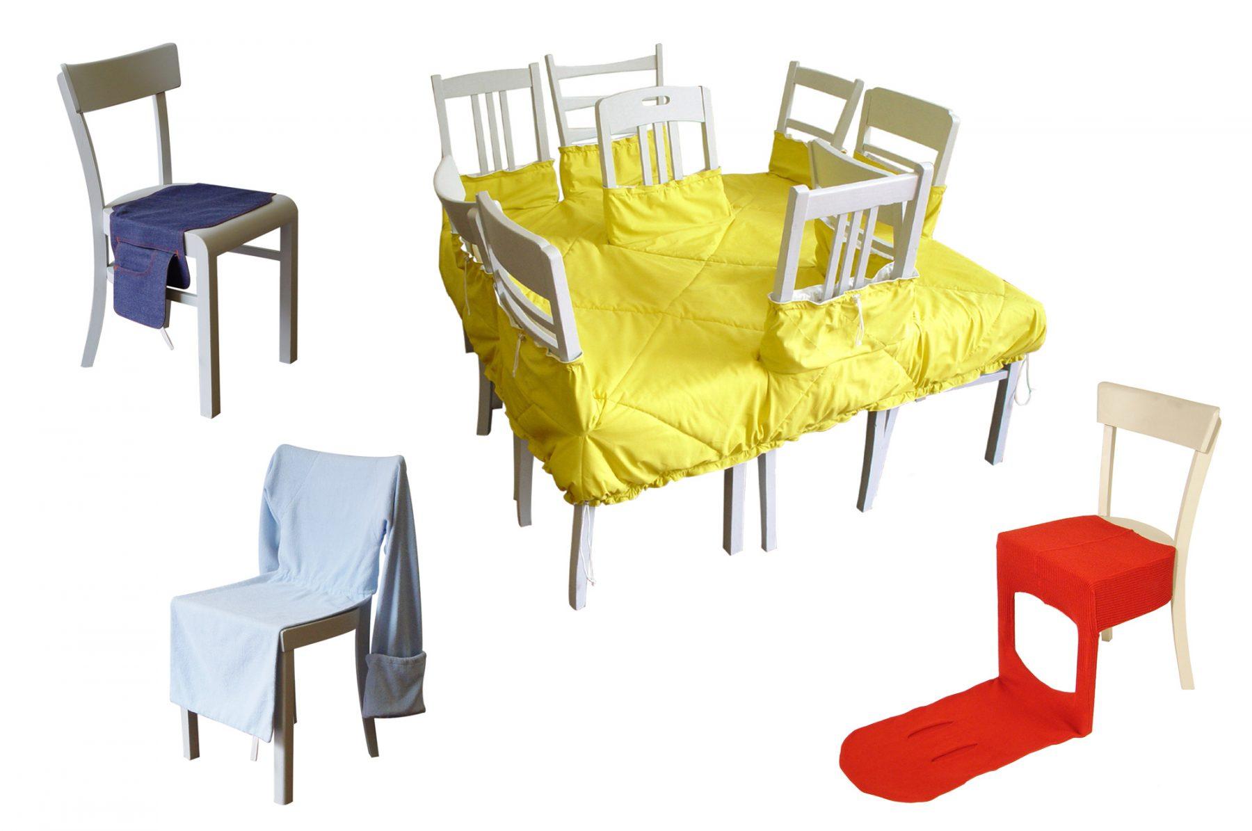 Kleiderkollektion für Stühle